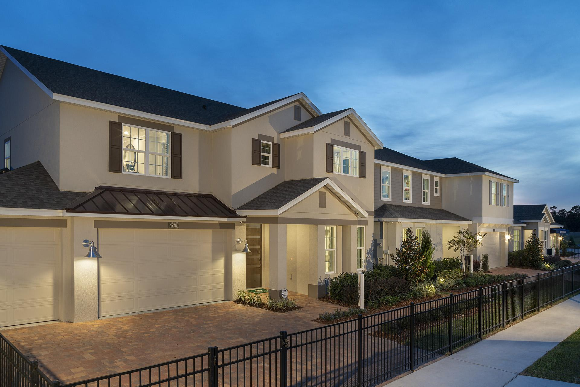 Hanover Lakes model homes:Hanover Lakes model homes