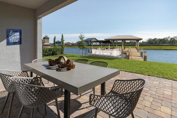 Build a dock in your backyard and head out to the lake any day you want!:Hanover Lakes by Hanover Family Builders offers homebuyers 15+ floorplans, a stunning amenity, and a home you will love at an exceptional value.