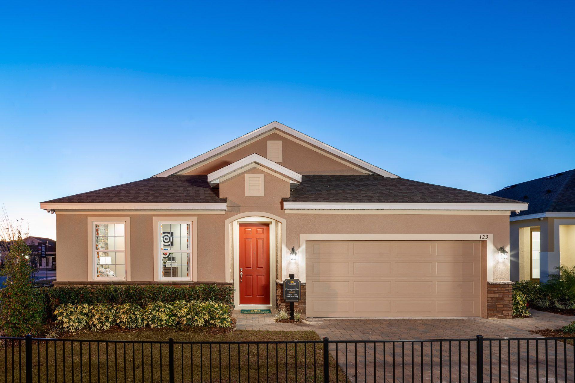 Kensington Flex Model Home:Preserve at Sunrise Model Home