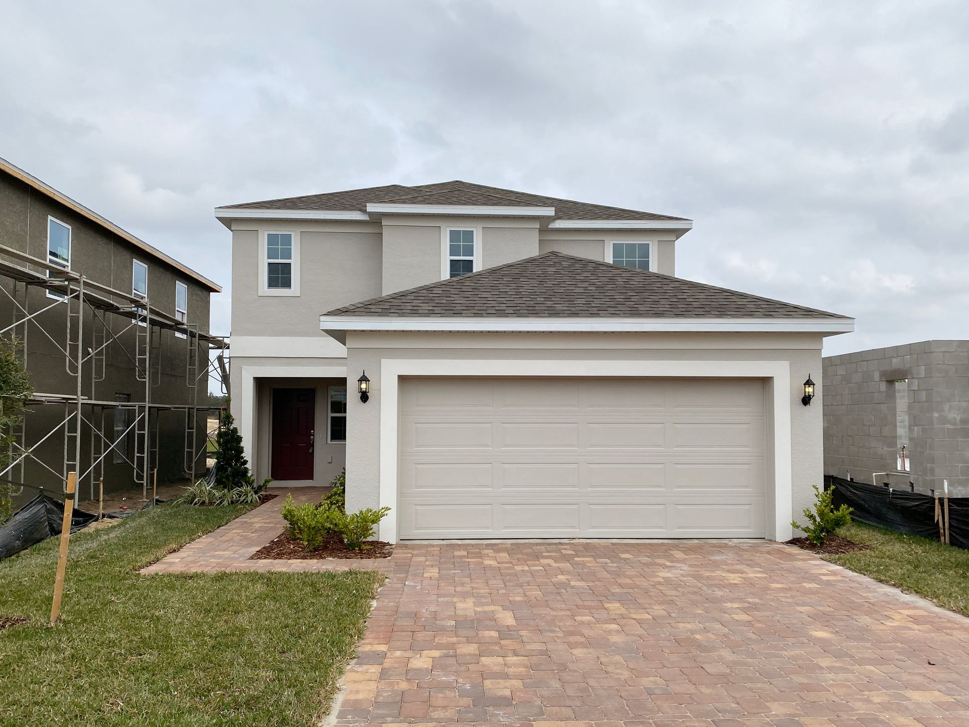 Exterior, Elevation 1:Destin Floor Plan by Hanover Family Builders