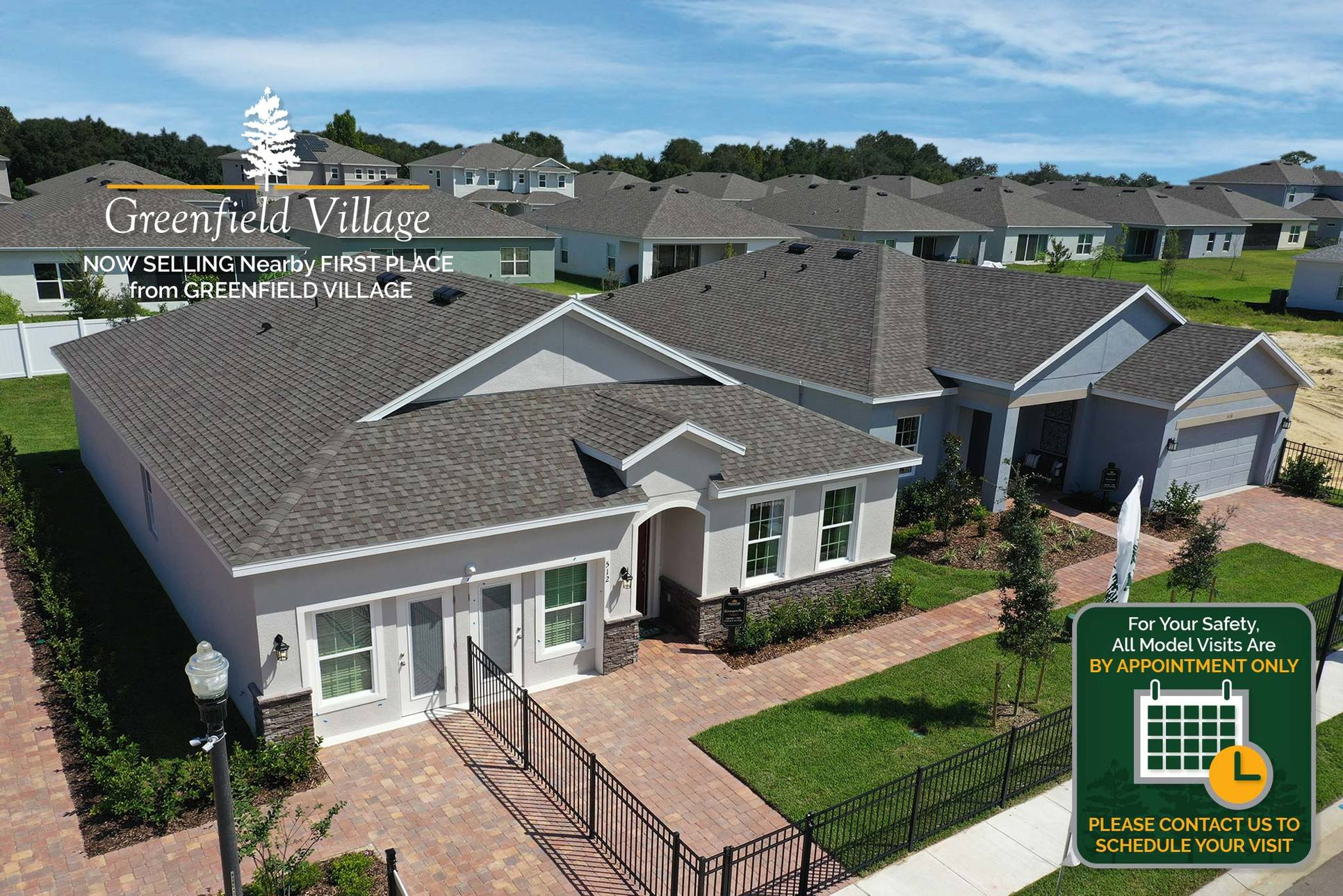 Stunning Model Homes at Greenfield Village:Available to Tour, By Appointment Only!