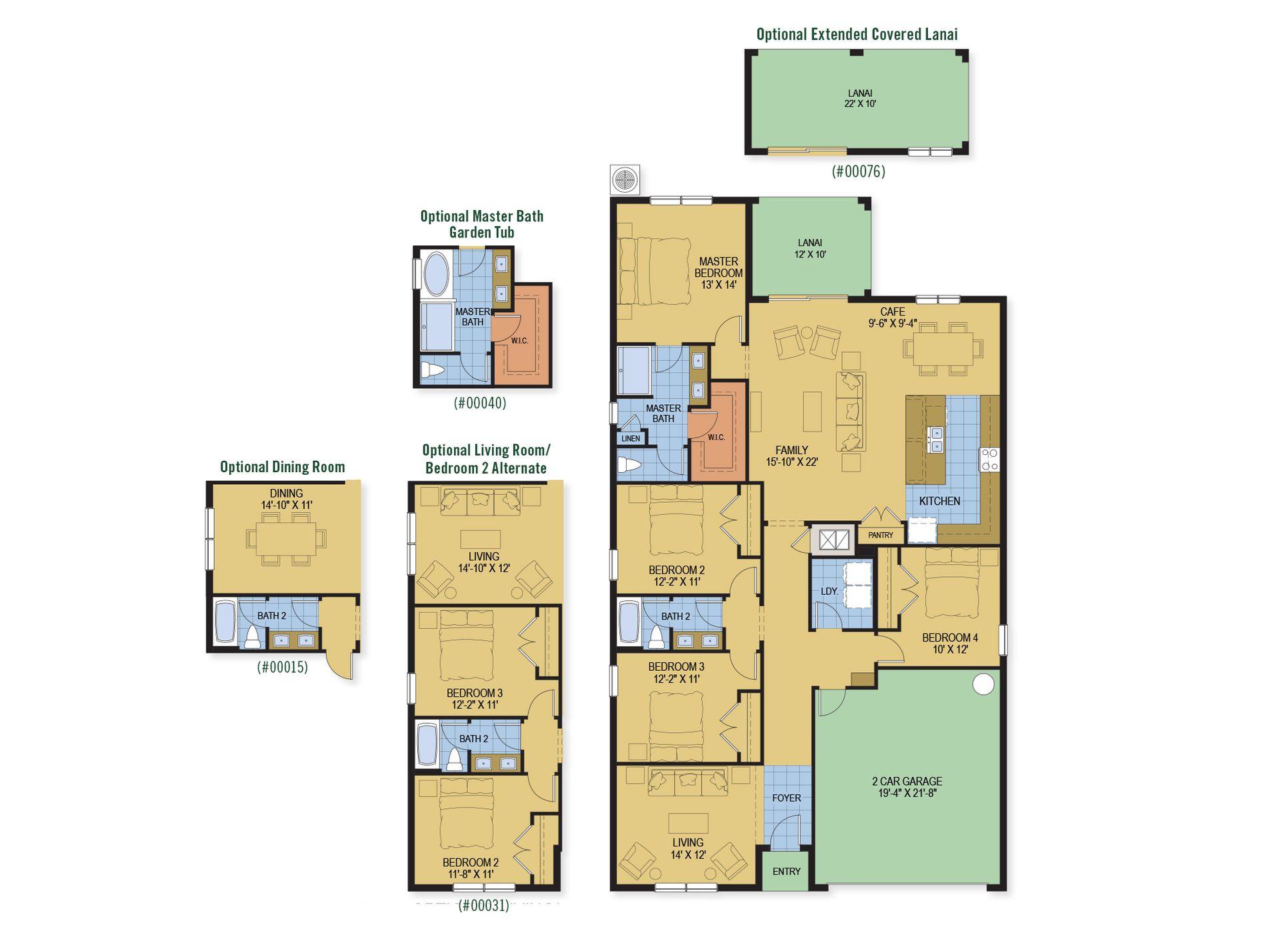 Kensington Flex:Kensington Flex floor plan