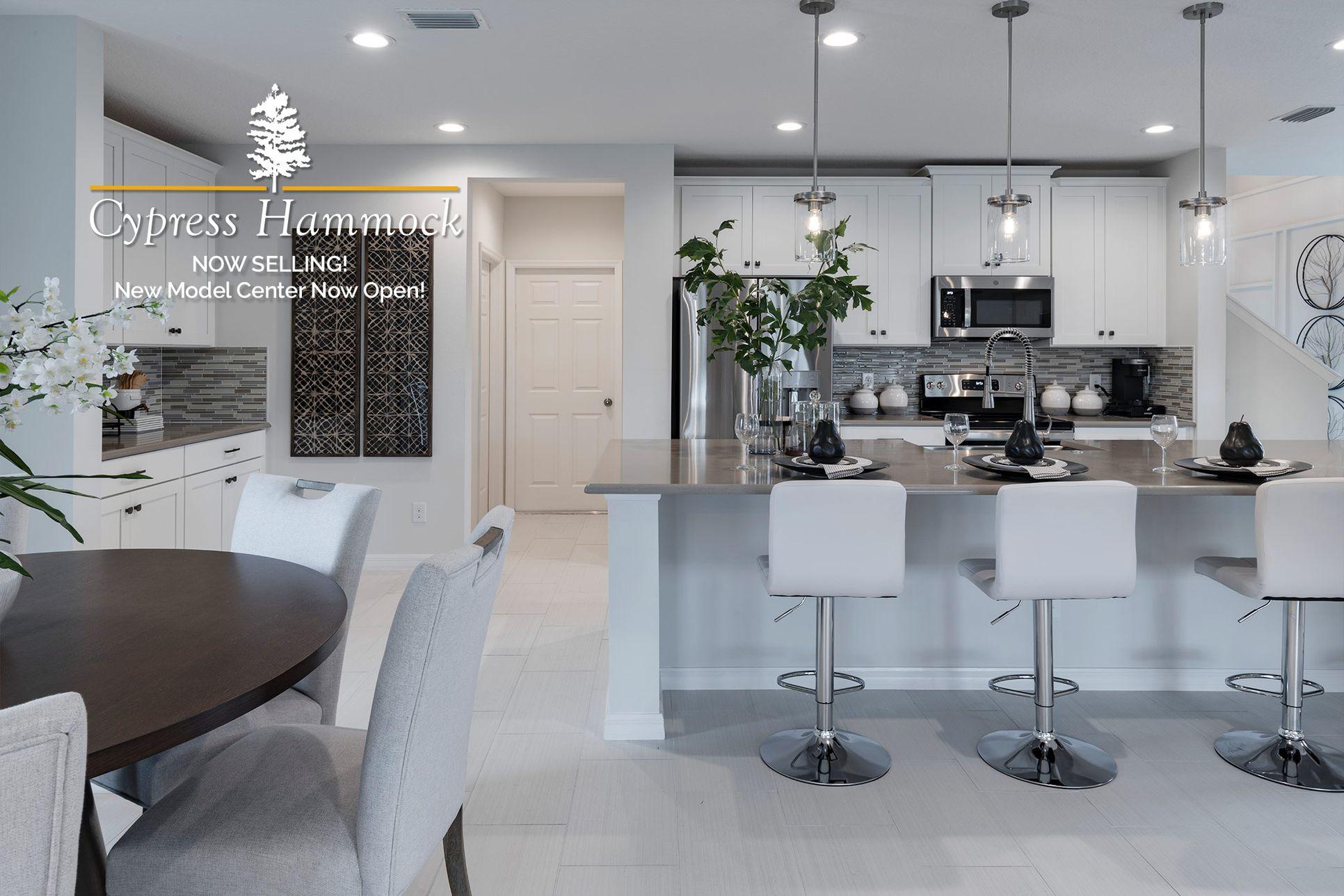 Cypress Hammock's Brand New Model Home is NOW OPEN!