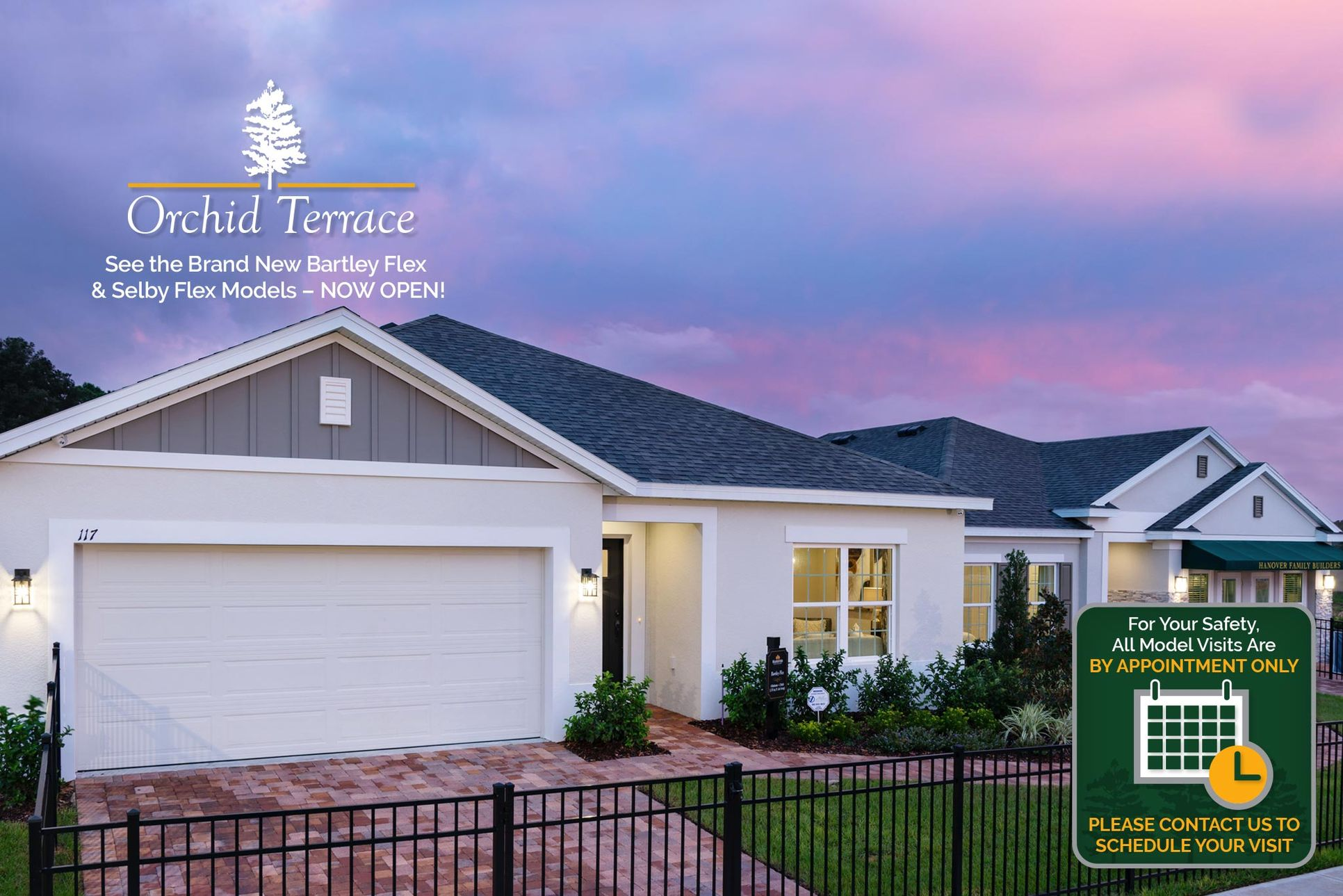 Orchid Terrace in Haines City Model Home Showcase