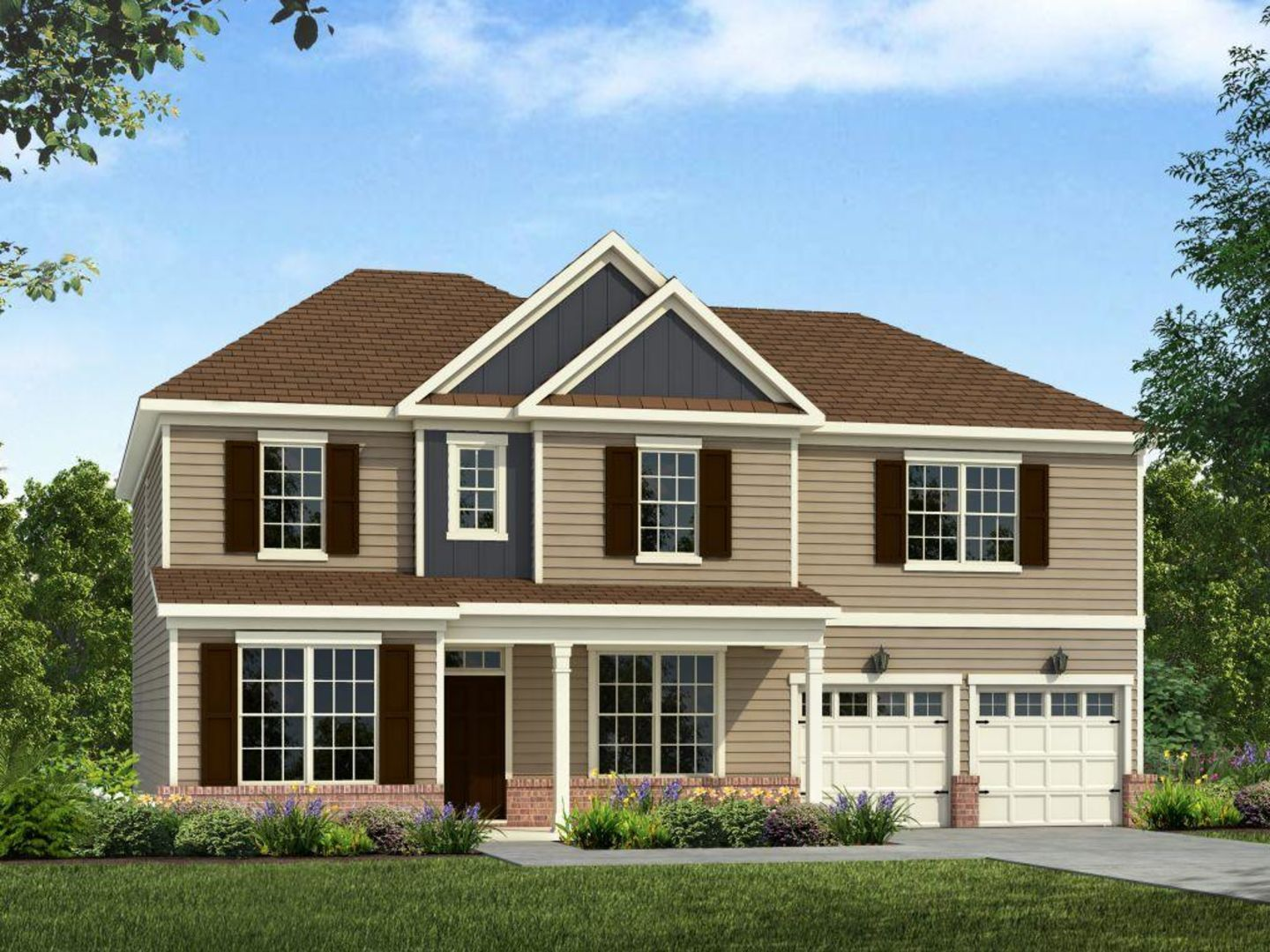 Exterior:Dogwood   Elevation A Compressed