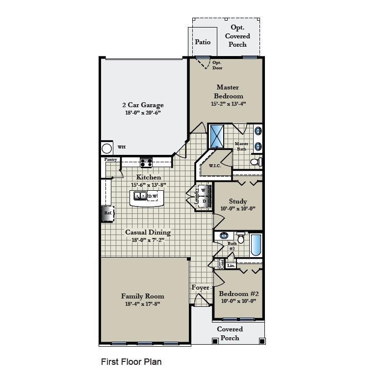 Floor Plan:Jasmine Floor Plan