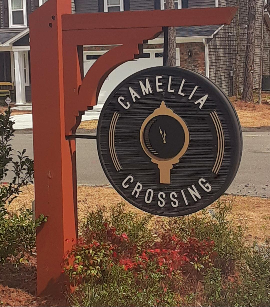 Camellia Crossing Sign