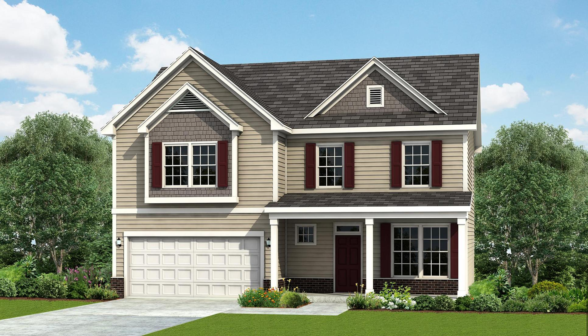 Interior:Topsail Rendering - Elevation A