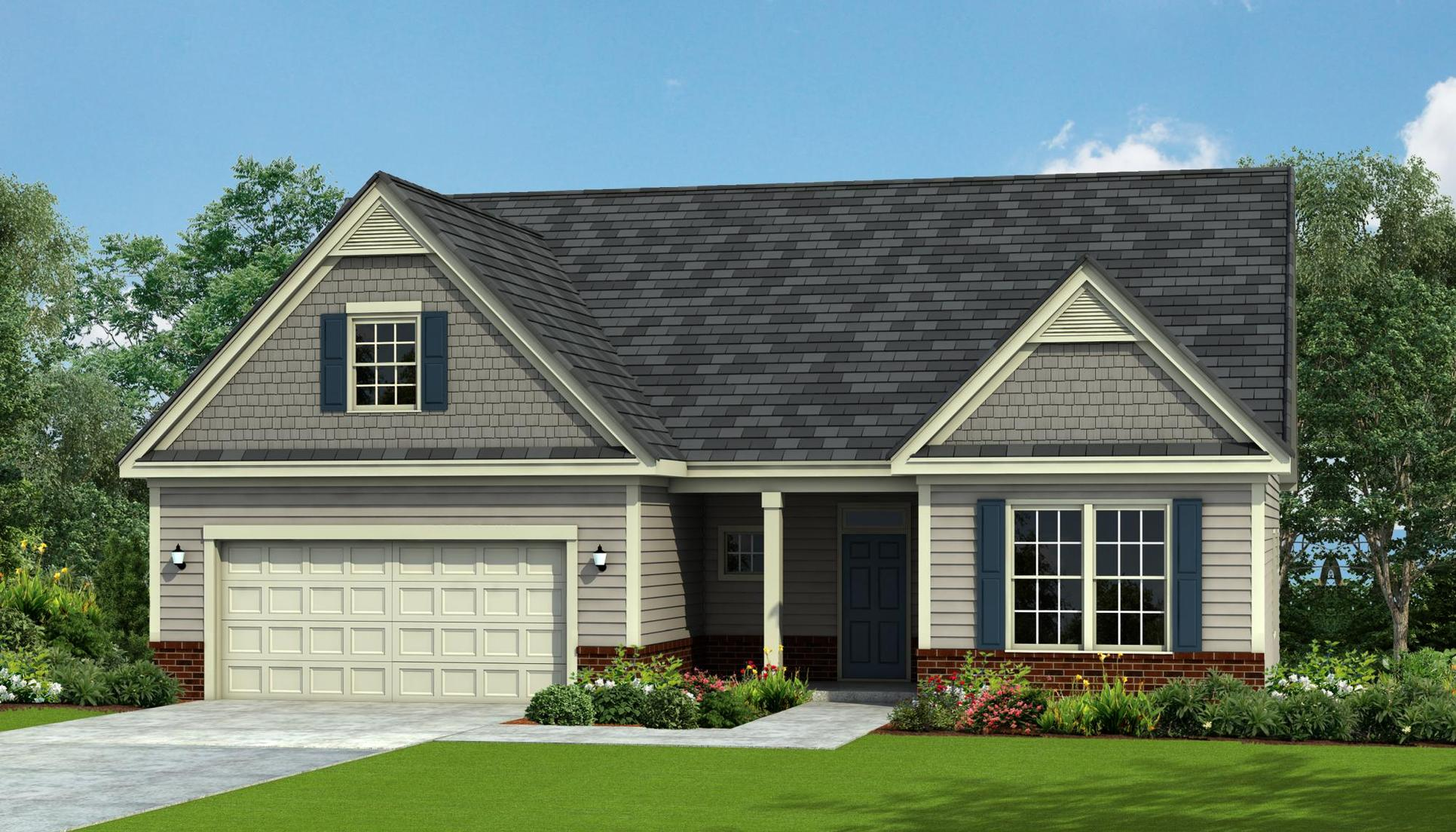 Exterior:Wrightsville Rendering - Elevation A