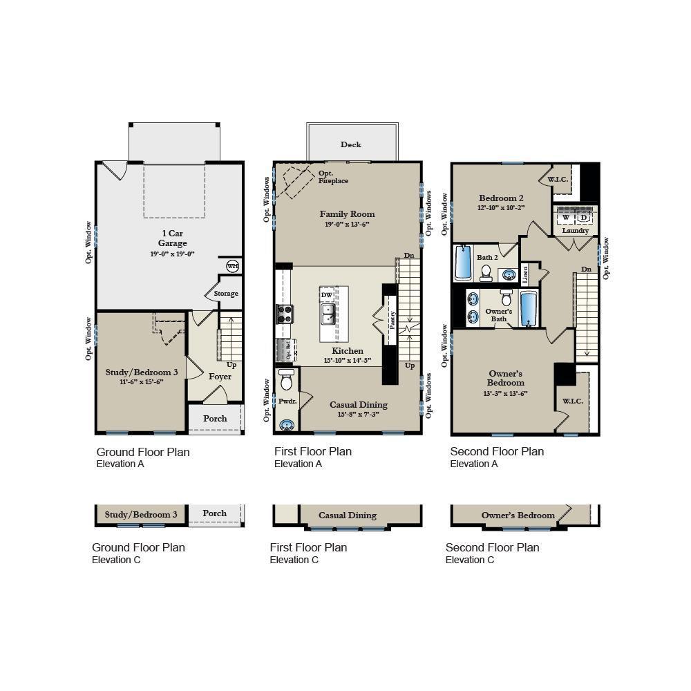 Floor Plan:Amber Floor Plan