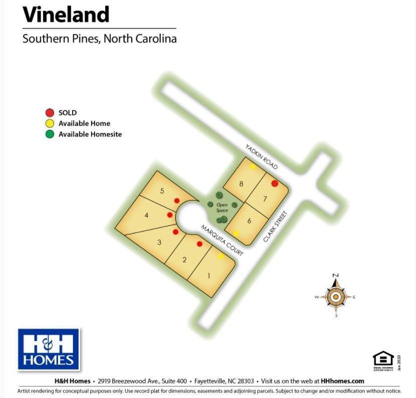 Vineland Lot Map