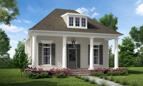 Front Elevation:The Tezcuco C - Highland Homes