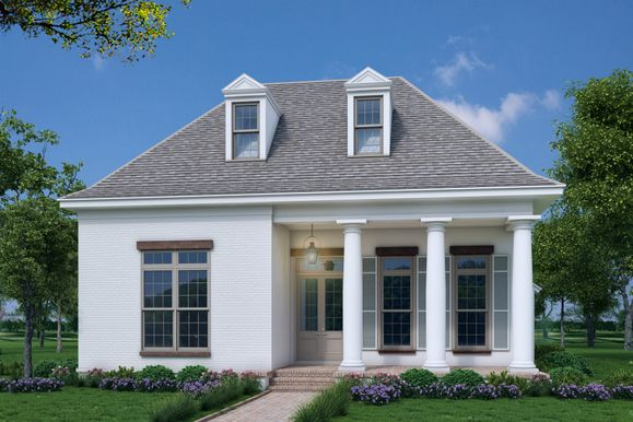 Front Elevation:The Bachman - Highland Homes