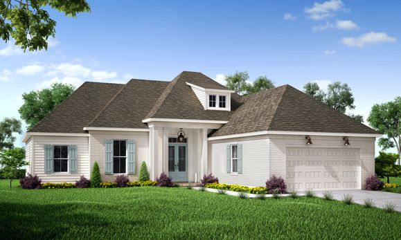 Front Elevation:The Cottonwood - Highland Homes
