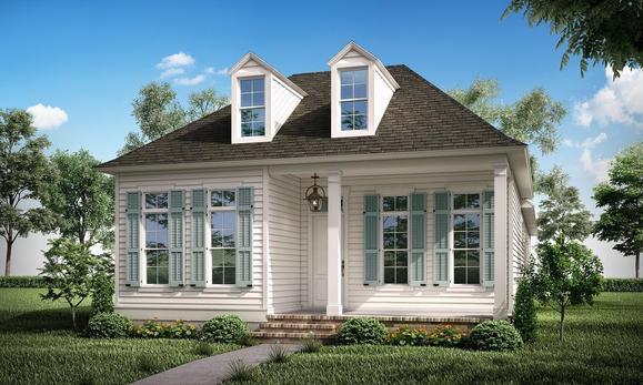 The Juliette - Highland Homes:Front Elevation