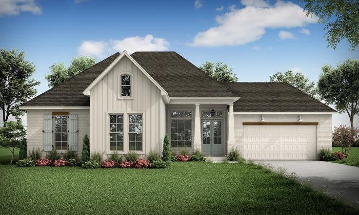 The Alexandre - Highland Homes:Front Elevation