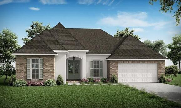 The Andre - Highland Homes:Front Elevation