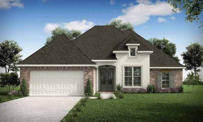 The Morgan - Highland Homes:Front Elevation