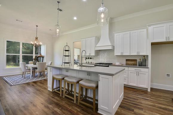 Kitchen/Dining:The Loren - Highland Homes