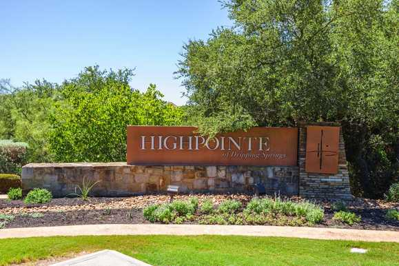 Highpointe: 80ft. lots,78737