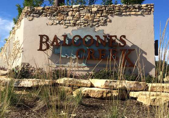 Balcones Creek: 70ft. lots,78006