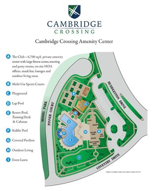Cambridge Crossing: 74ft. lots,75009