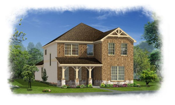 Exterior:Forsythe with Elevation H-S
