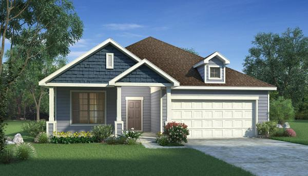 Exterior:Olive with Elevation Q