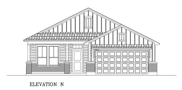 Cartington -Crossing at Northwest:Elevation N