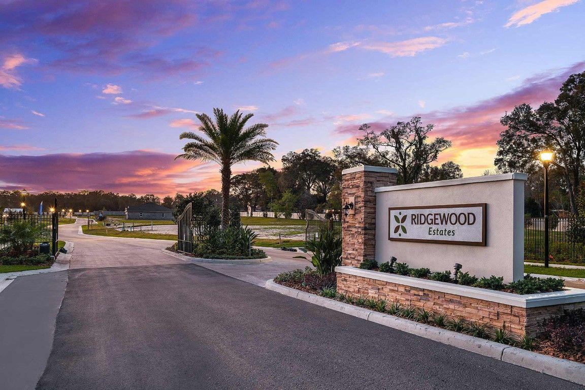 Ridgewood Estates Gated Entry