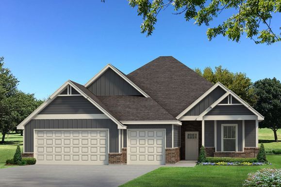 Homes by Taber Mallory PLUS  Floorplan with Siding