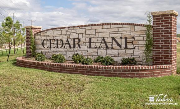 New homes in Norman OK Cedar Lane