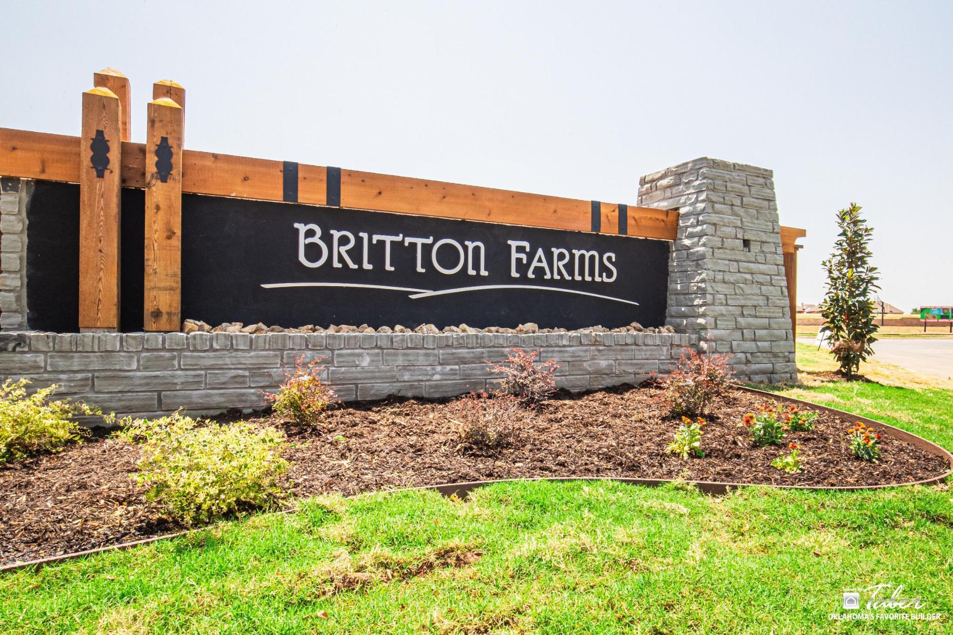 New Homes in Yukon in Britton Farms