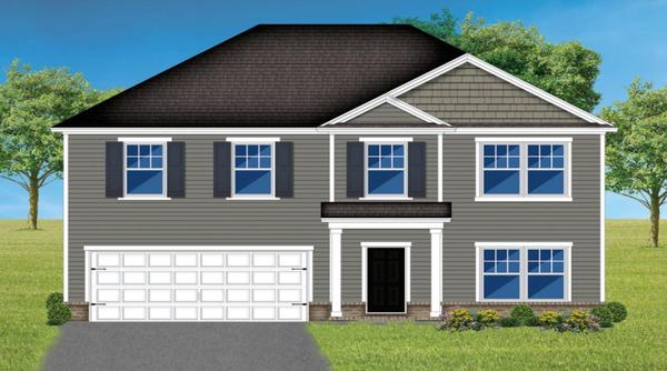 The Oconee:Elevation A