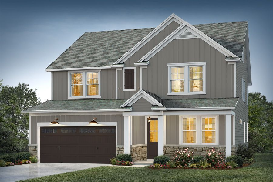 Elevation 1:Echo Bay Color Package