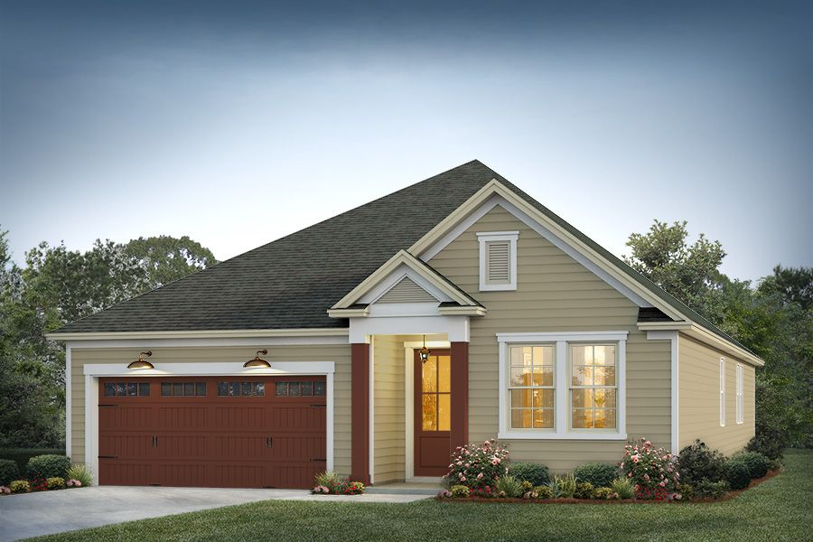 Elevation 3:Driftwood Color Package