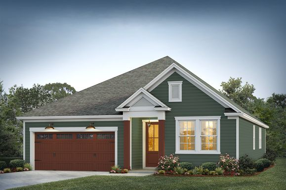 Pimlico Elevation 3:Greenbrooke Color Package