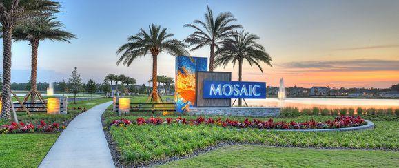 Mosaic Signage