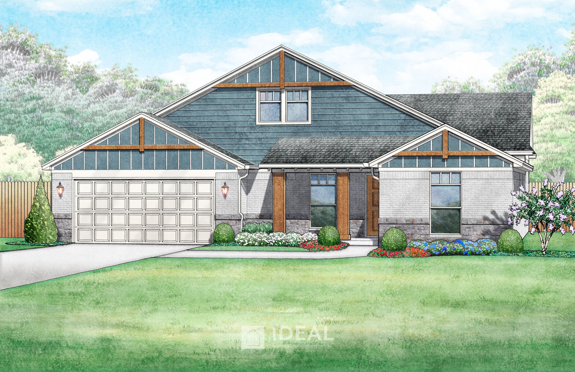 Lawrence Mountain Cottage - Elevation A