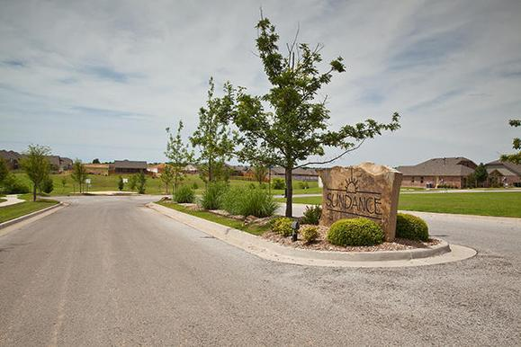 Entry way at Sundance, a community of new homes in Edmond OK from Ideal Homes
