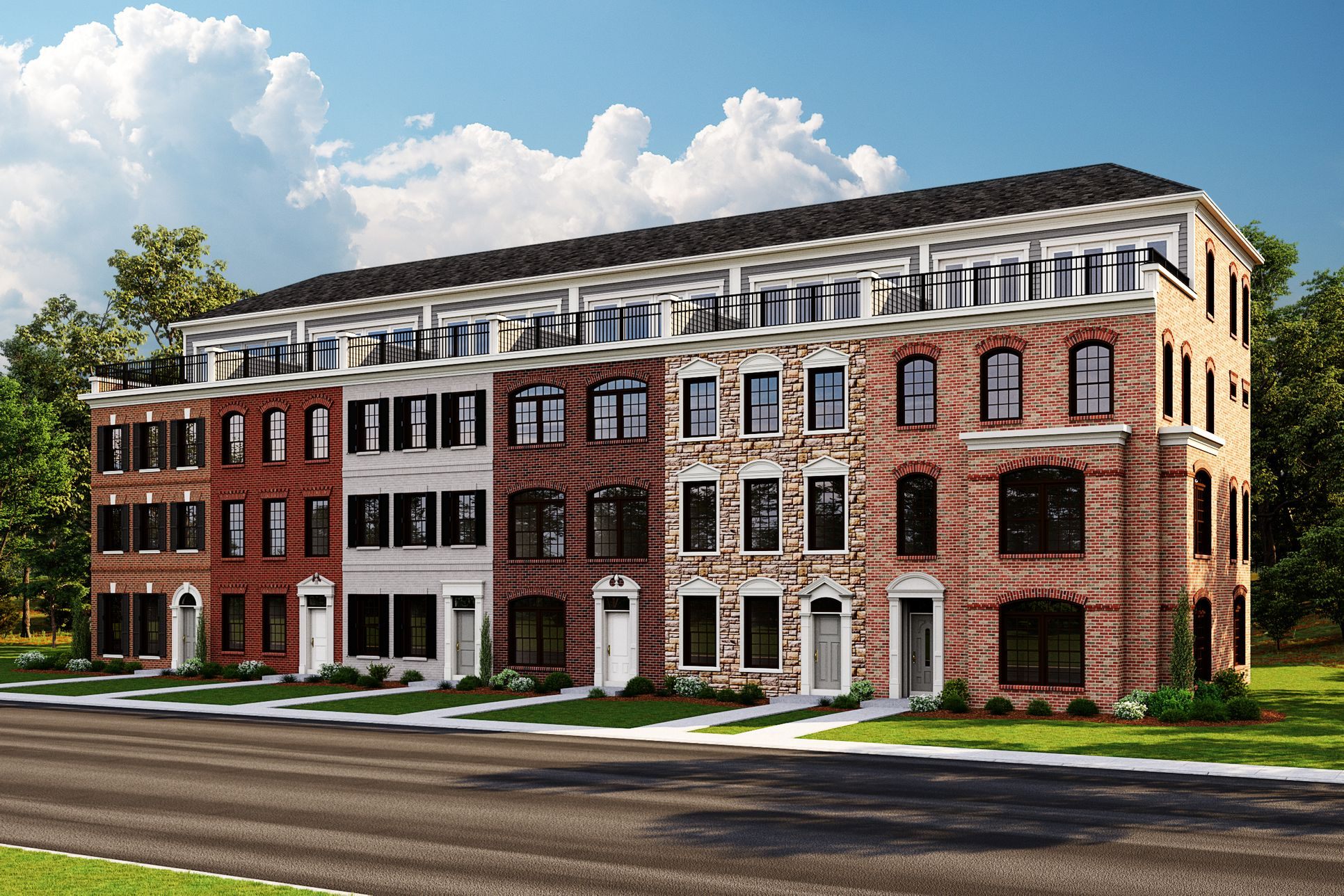 The Monument Series:National Harbor Townhomes
