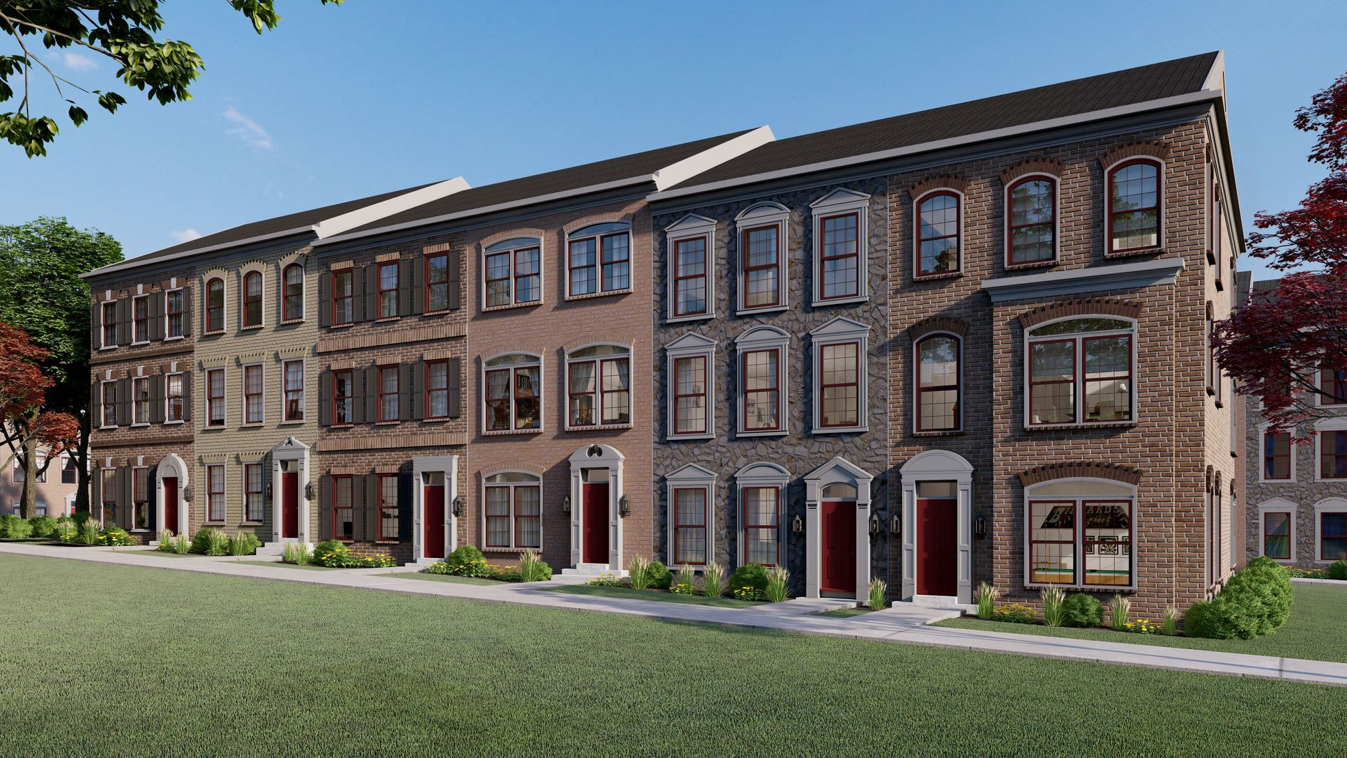 The Enclave at Fair Lakes:Luxury Townhomes