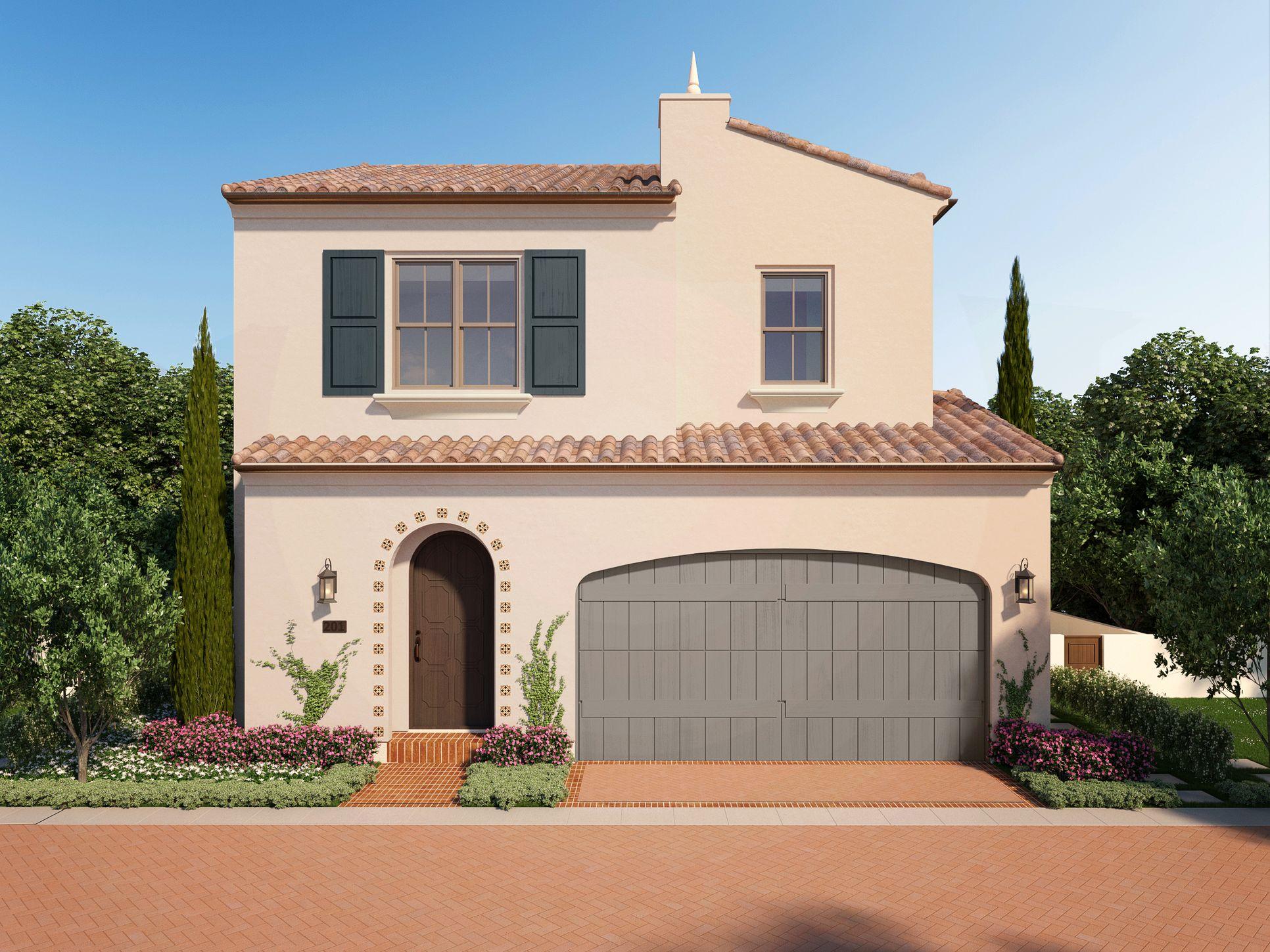 Residence 1 at Hillside - Santa Barbara Style:Santa Barbara
