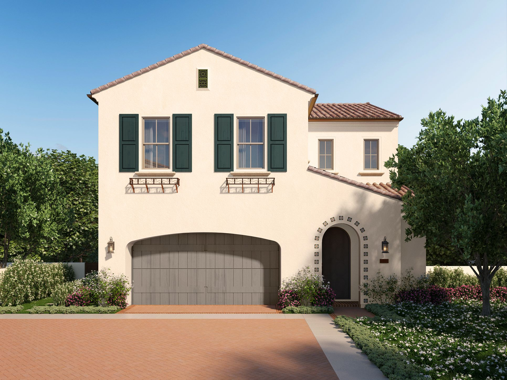 Residence 2 at Hillside - Italiante:Residence 2 at Hillside - Santa Barbara style