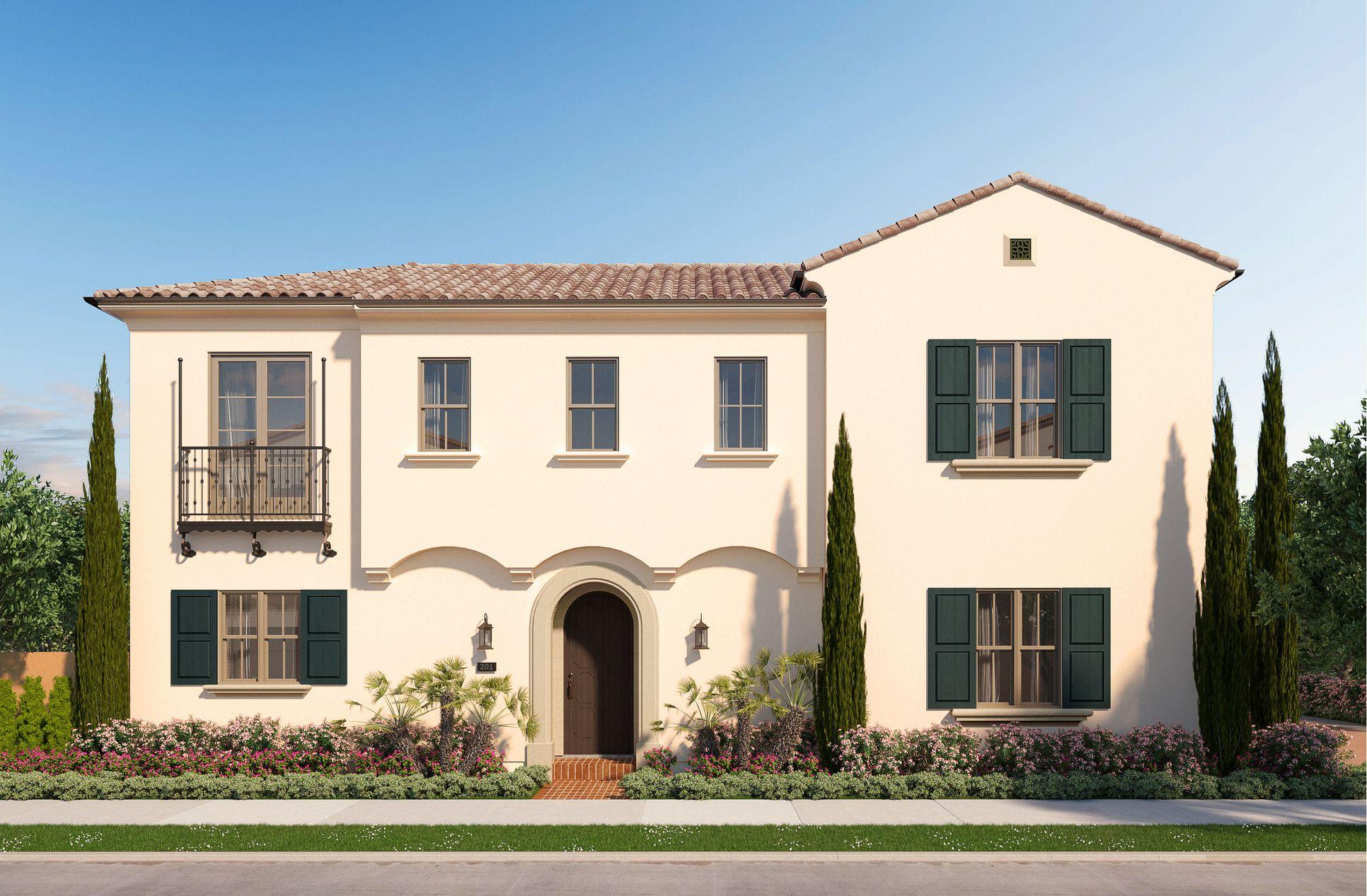 Residence 1 at Bluffs:Santa Barbara Style