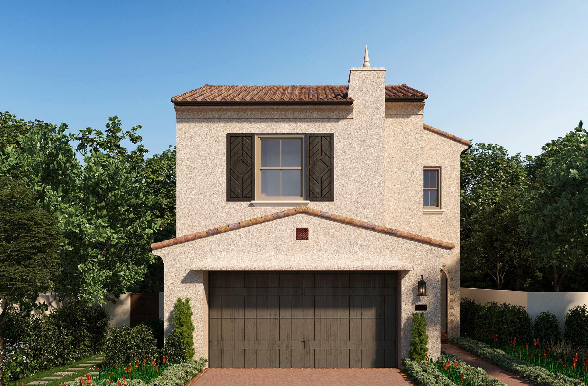 Residence 1 at Highland - Santa Barbara:Residence 1 at Highland - Santa Barbara Style