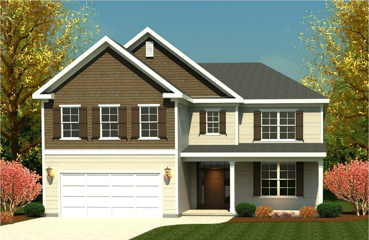 Exterior:3218 Townsend II A Ivey Residential Rendering