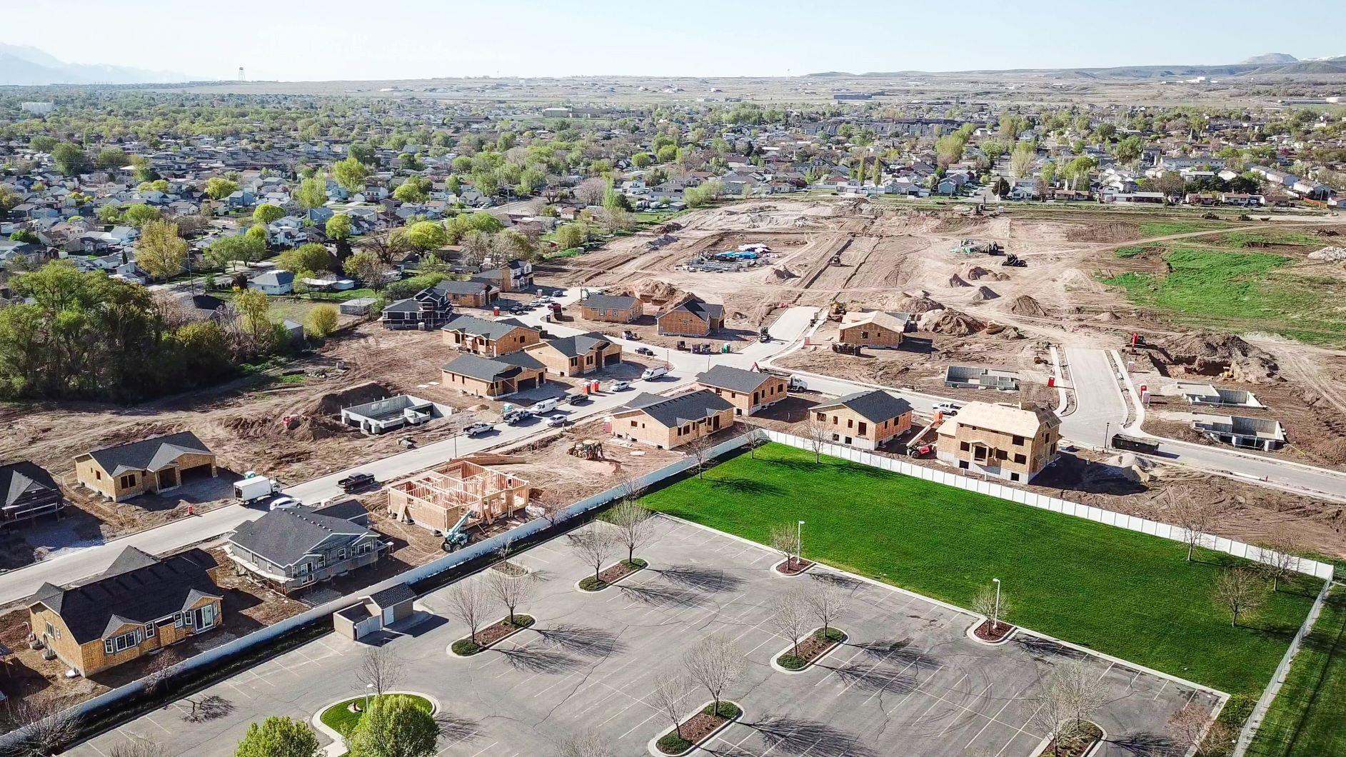 CW Farms:Aerial Shot