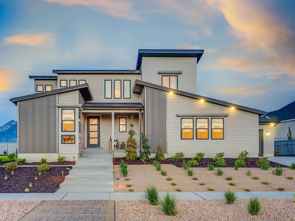 Big Willow Creek Estates:Model Home