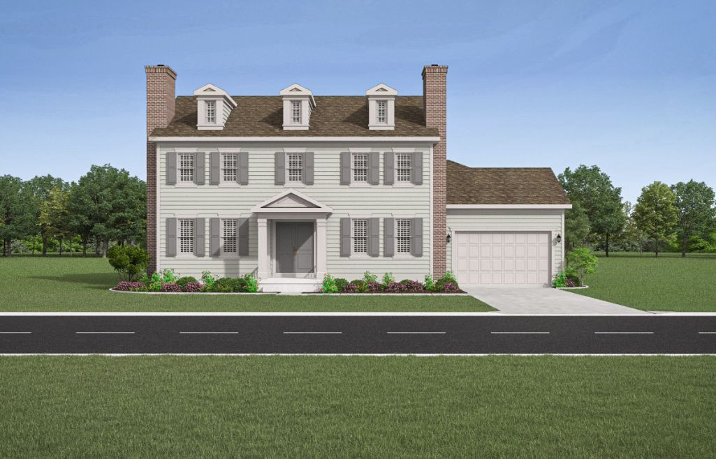 New Haven Colonial:Elevation